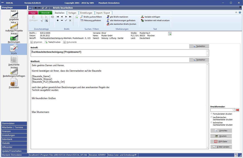 Software Für Isolierer Isocal 2013