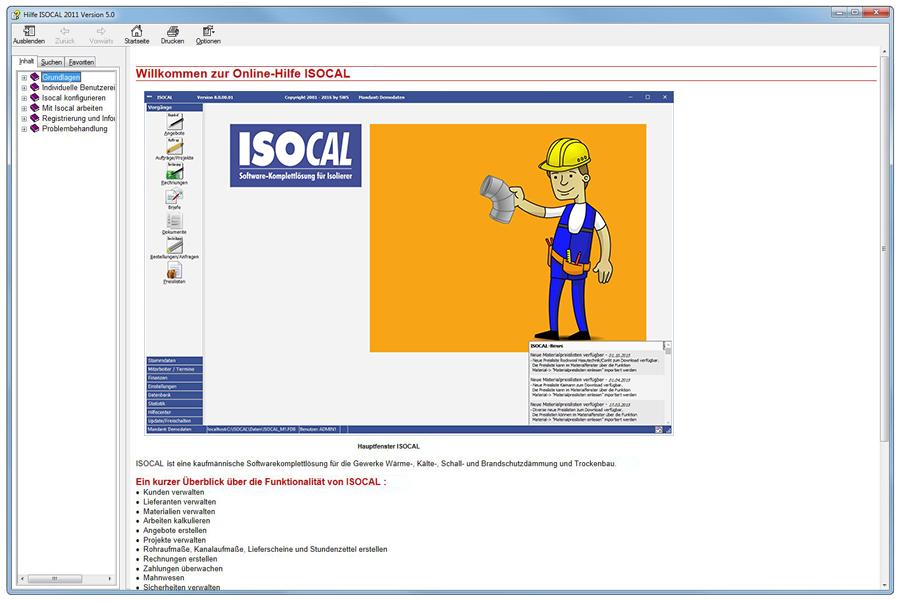 Software Für Isolierer Isocal 2013 Leichte Bedienung